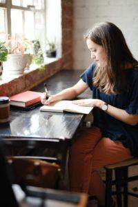 Hannah Olinger writing