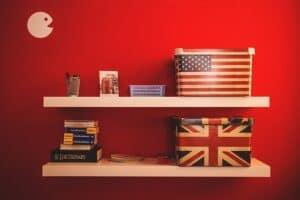 american merchandise red