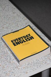 Everyday english yellow book