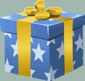 Birthday present image